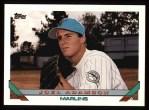 1993 Topps #613   Joel Adamson Front Thumbnail