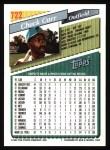 1993 Topps #722  Chuck Carr  Back Thumbnail