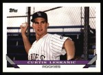 1993 Topps #774   Curt Leskanic Front Thumbnail
