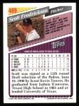 1993 Topps #489  Scott Fredrickson  Back Thumbnail