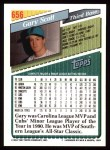 1993 Topps #656  Gary Scott  Back Thumbnail