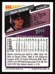 1993 Topps #644   Dante Bichette Back Thumbnail