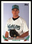 1993 Topps #483  Brian Griffiths  Front Thumbnail