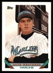 1993 Topps #739   Dave Weathers Front Thumbnail