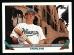 1993 Topps #789   Jeff Conine Front Thumbnail