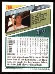 1993 Topps #789   Jeff Conine Back Thumbnail
