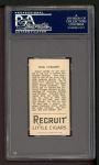 1912 T207 #37  Doc Crandall    Back Thumbnail