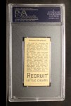 1912 T207 #156   Ed Reulbach   Back Thumbnail
