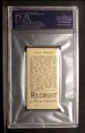 1912 T207 #122   Larry McLean   Back Thumbnail