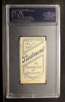 1909 T206 #93 CLE J. J. Clarke  Back Thumbnail