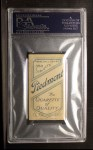 1909 T206 #52 BAT Roger Bresnahan  Back Thumbnail
