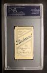 1909 T206 #427 POR Boss Schmidt  Back Thumbnail