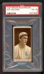 1912 T207 #74   Ed Hallinan   Front Thumbnail