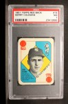 1951 Topps Red Back #18   Gerry Coleman Front Thumbnail