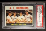 1964 Topps #331  AL Bombers  -  Roger Maris / Norm Cash / Mickey Mantle / Al Kaline Front Thumbnail
