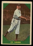 1960 Fleer #47  Cy Young  Front Thumbnail