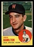 1963 Topps #171  Steve Hamilton  Front Thumbnail