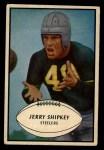 1953 Bowman #82  Jerry Shipkey  Front Thumbnail
