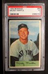 1954 Bowman #65  Mickey Mantle  Front Thumbnail