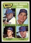 1965 Topps #533  Mets Rookies  -  Tug McGraw / Ron Swoboda / Jim Bethke / Dan Napoleon Front Thumbnail
