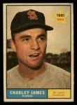 1961 Topps #561  Charlie James  Front Thumbnail