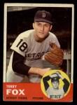 1963 Topps #44   Terry Fox Front Thumbnail