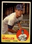 1963 Topps #53  Joe Moeller  Front Thumbnail