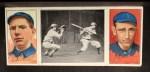 1912 T202 Hassan #121   -  Art Fromme / Larry McLean Tom Jones At Bat  Front Thumbnail
