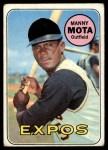 1969 #236  Manny Mota  Front Thumbnail