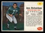 1962 Post #41  Jesse Richardson  Front Thumbnail