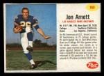 1962 Post #160  Jon Arnett  Front Thumbnail