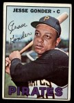 1967 Topps #301  Jesse Gonder  Front Thumbnail