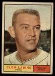 1961 Topps #22  Clem Labine  Front Thumbnail