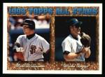 1994 Topps #386   -  Wade Boggs   / Matt Williams All-Star Front Thumbnail