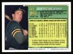 1994 Topps #363   Eric Helfand Back Thumbnail