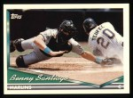 1994 Topps #370  Benito Santiago  Front Thumbnail