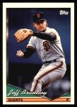 1994 Topps #116  Jeff Brantley  Front Thumbnail