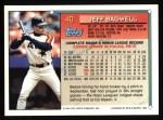 1994 Topps #40   Jeff Bagwell Back Thumbnail