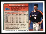 1994 Topps #456  Pete Harnisch  Back Thumbnail