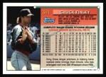 1994 Topps #381   Chuck Finley Back Thumbnail