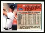1994 Topps #495  Mickey Tettleton  Back Thumbnail