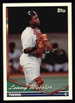 1994 Topps #252  Lenny Webster  Front Thumbnail