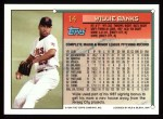 1994 Topps #14   Willie Banks Back Thumbnail