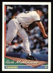 1994 Topps #326   Rich Monteleone Front Thumbnail