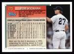 1994 Topps #173   Bob Wickman Back Thumbnail