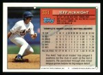 1994 Topps #331  Jeff McKnight  Back Thumbnail