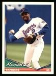 1994 Topps #51  Manuel Lee  Front Thumbnail