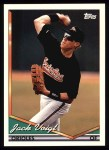 1994 Topps #117   Jack Voigt Front Thumbnail