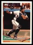 1994 Topps #289  Damon Berryhill  Front Thumbnail