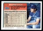1994 Topps #333   Mike Timlin Back Thumbnail